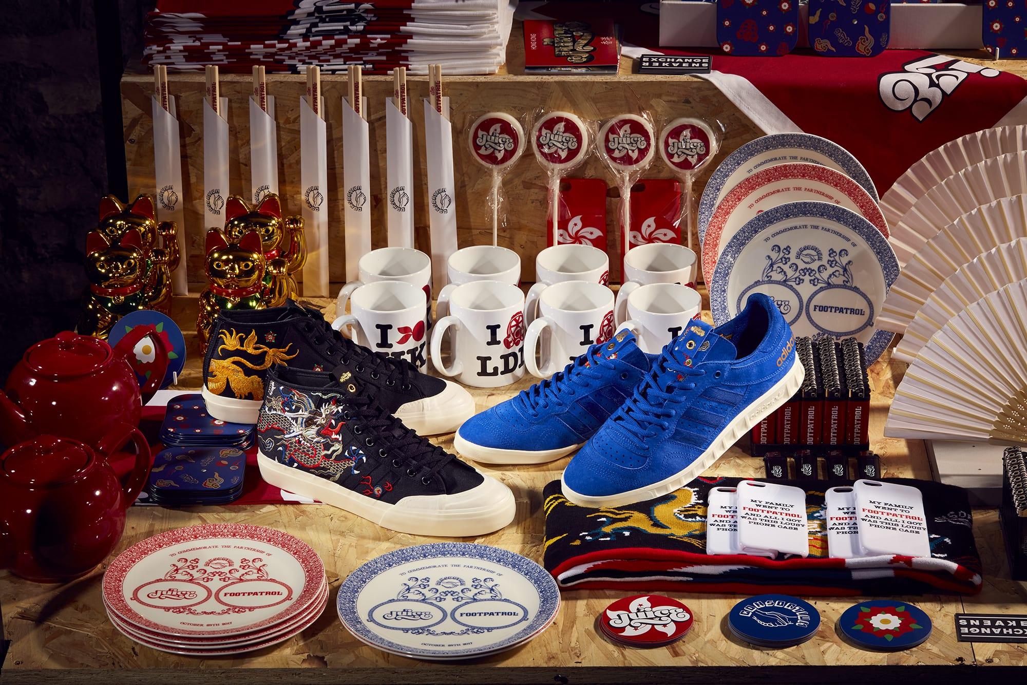 reputable site 7a9ee a7b4c Consortium Juice x FP Concept Shot 2 adidas Consortium Sneaker Exchange –  Juice   Footpatrol