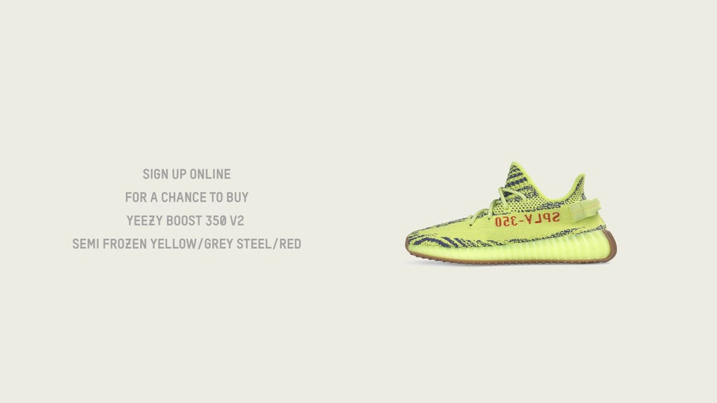 f79cde87c69 YEEZY BOOST 350 v2 Semi Frozen Yellow