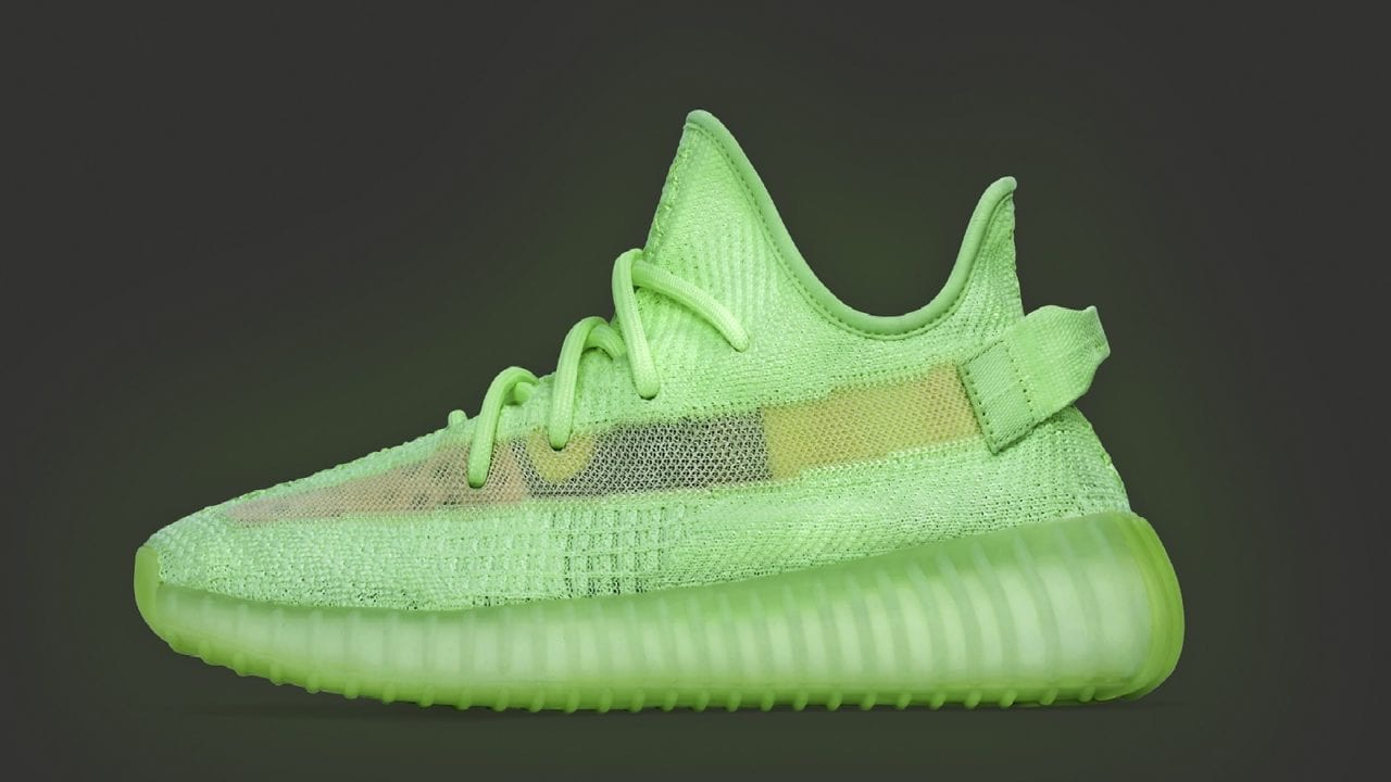 "sale retailer 70c8a 0a005 Yeezy Boost 350 v2 ""GLOW"""