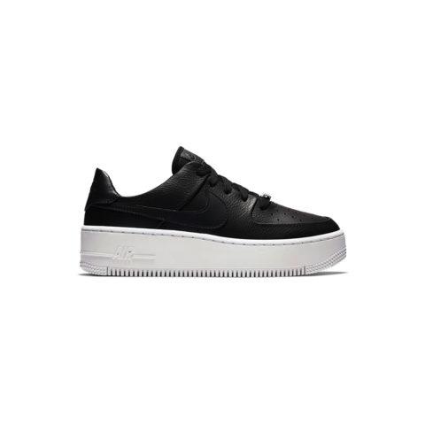 Nike AIR FORCE 1 SAGE LOW, Black