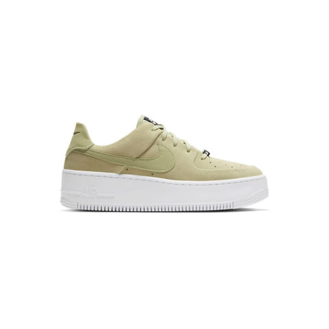 Nike AIR FORCE 1 SAGE LOW, Olive Aura