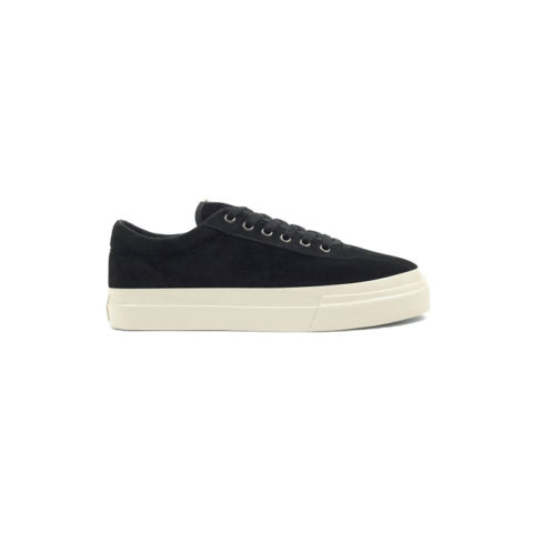 Stepney Workers Club DELLOW SUEDE, Black