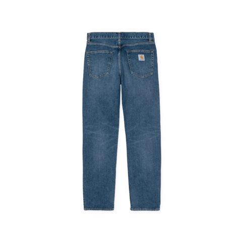 Carhartt WIP PONTIAC PANT, Blue Mid Worn