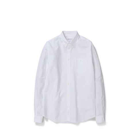 Norse Projects ANTON OXFORD, White