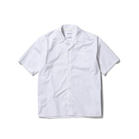 Norse Projects CARSTEN POPLIN S/S SHIRT, White