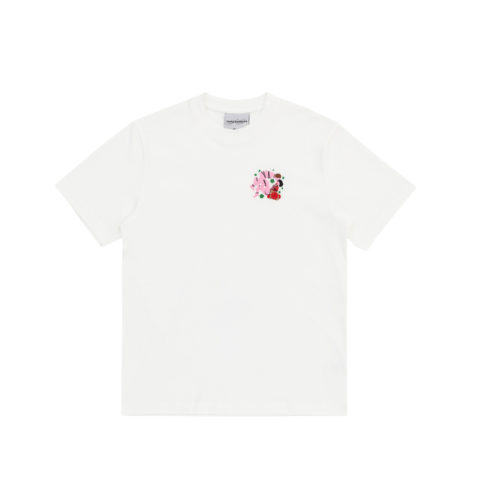 Carne Bollente TIED FOR THE GODS TEE, White