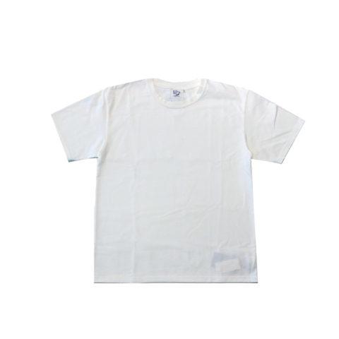 orSlow PRINT T-SHIRT, white print