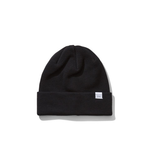 Norse Projects NORSE TOP BEANIE, Black