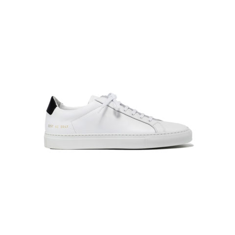 Common Projects RETRO LOW, White