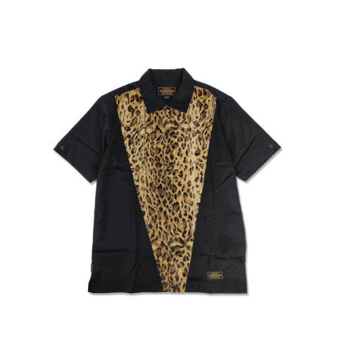 Neighborhood T.D. SHIRT, Black/Leopard