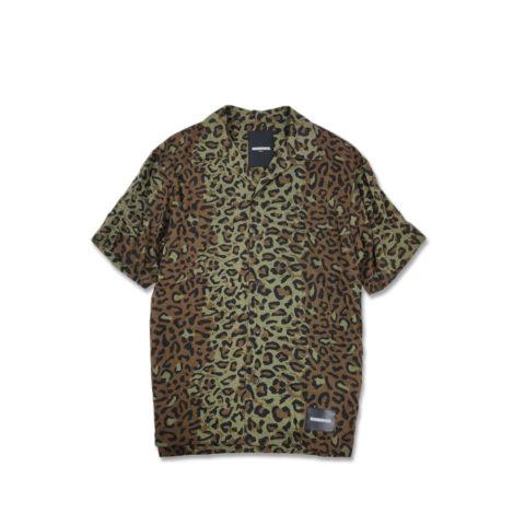 Neighborhood ALOHA SHIRT, Leopard
