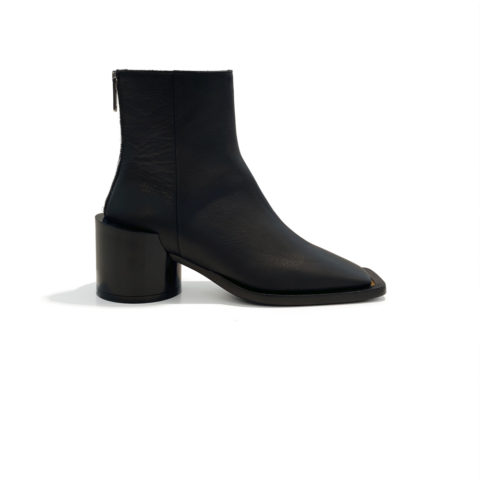 MM6 ANKLE BOOT, Black
