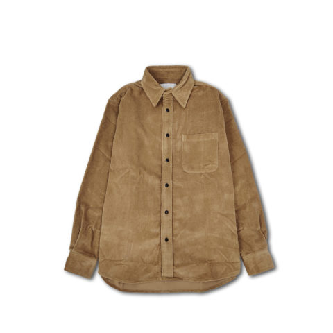 Adsum PREMIUM BUTTON DOWN SHIRT, Brown Corduroy