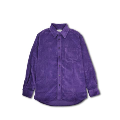 Adsum PREMIUM BUTTON DOWN SHIRT, Purple Corduroy