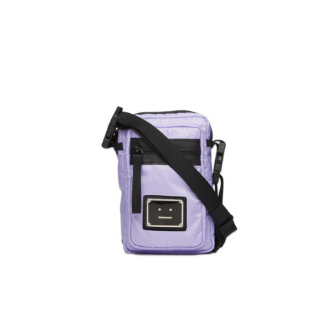 Acne Studios LOGO PLAQUE POCKET BAG, Lilac Purple