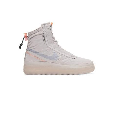 Nike WMNS AIR FORCE 1 SHELL, Platinum Violet