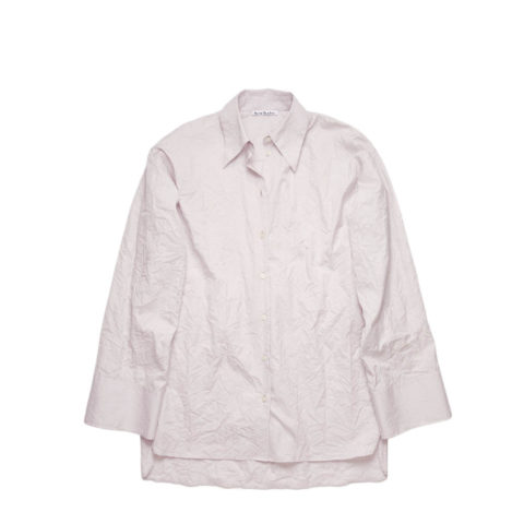 Acne Studios CRINKLED SHIRT, Light Purple