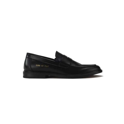 Common Projects LEATHER LOAFER, Black