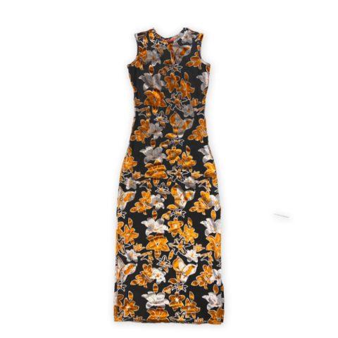 Eckhaus Latta SHRUNK DRESS, Burnout Velvet
