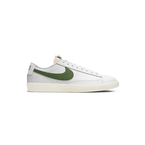 Nike BLAZER LOW LEATHER, White/Forest Green