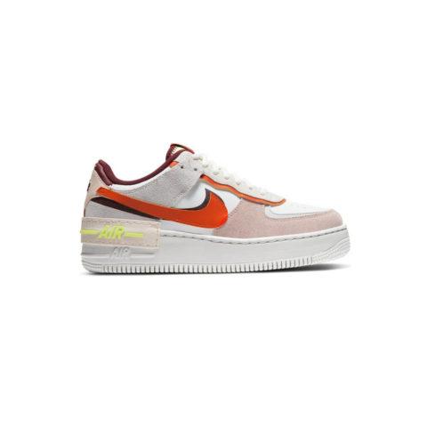 Nike W AIR FORCE 1 SHADOW, Team Red/Volt/Orange