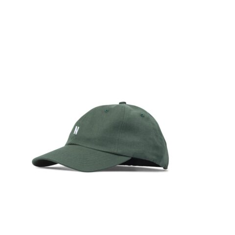 Norse Projects TWILL SPORTS CAP, Dartmouth Green