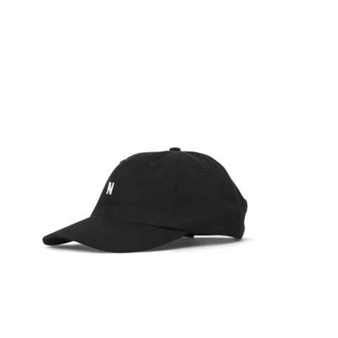 Norse Projects TWILL SPORTS CAP, Black