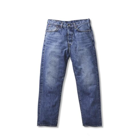 Edwin MADE IN JAPAN LOOSE TAPERED JEANS, Blue Mid Used