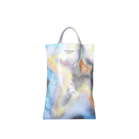 Acne Studios WOMEN'S OILCLOTH TOTE BAG, Multicolor