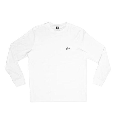Patta BASIC LONGSLEEVE T-SHIRT, White