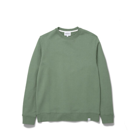 Norse Projects VAGN CLASSIC CREW, Lichen Green