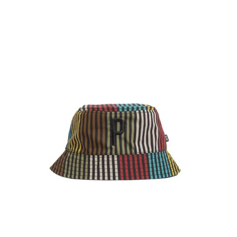 Patta DUB STRIPE REVERSIBLE BUCKET HAT, Multi