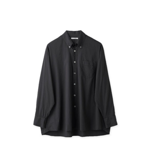 Our Legacy BORROWED BD SHIRT, Black Voile