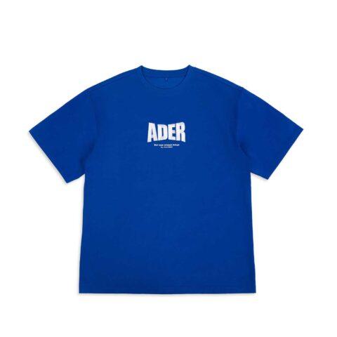 Ader Error OG; FORM @2201 T-SHIRT, Blue