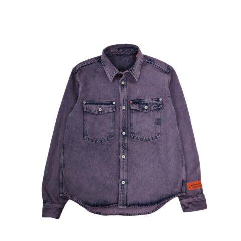 Heron Preston DENIM SHIRT, Purple