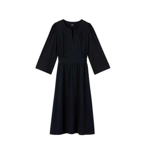A.P.C. NELLIE DRESS, Near Black