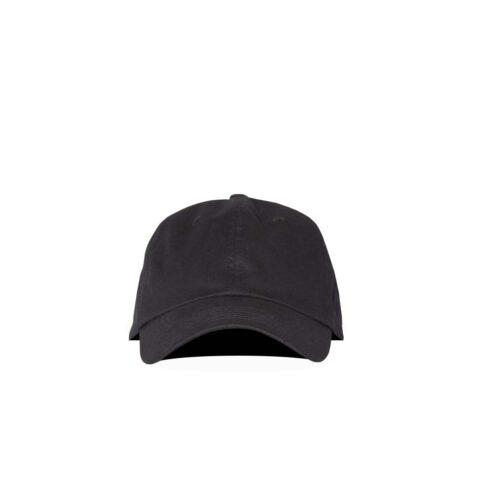 Acne Studios TWILL BASEBALL CAP, Black