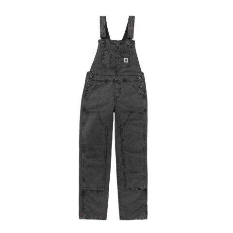 Carhartt WIP W' SONORA OVERALL, Black Worn Washed